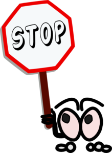 Stop clipart small  art clip vector at