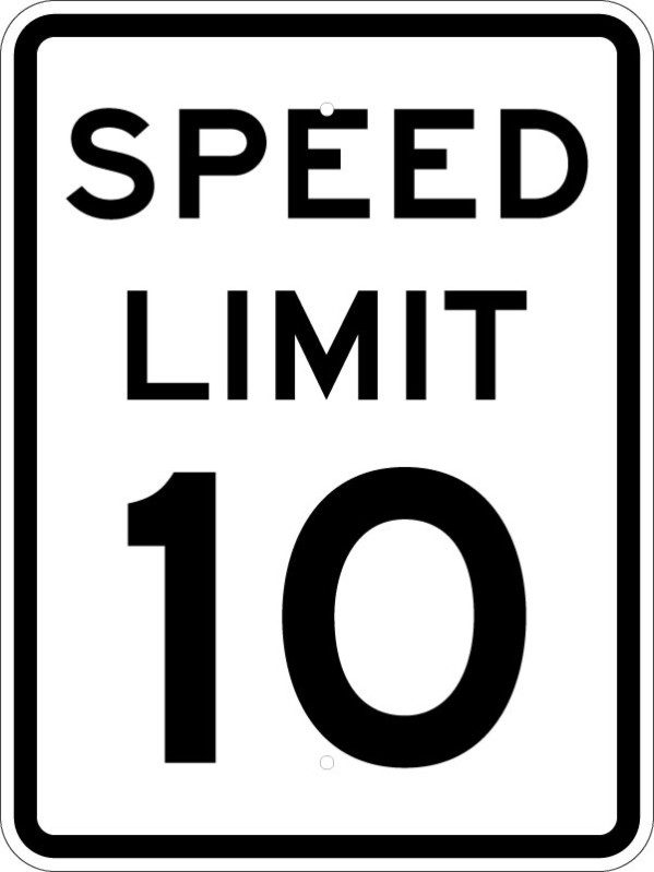 Stop clipart speed limit On Sign Clip Art MPH