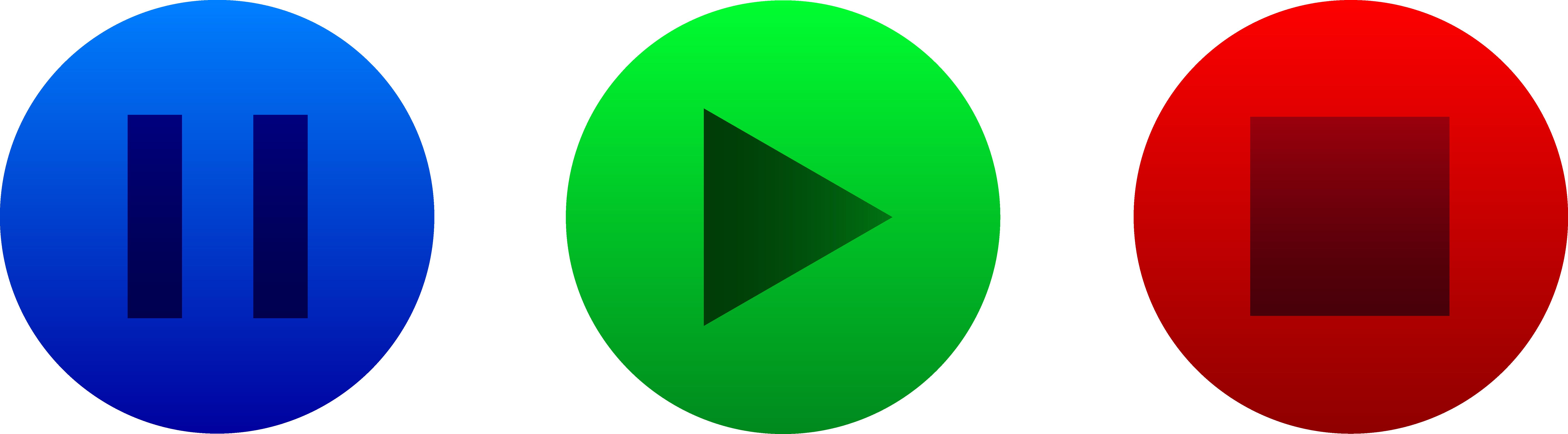 Audio clipart pause button #14