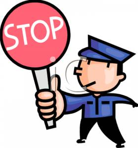 Traffic clipart control Stop Art a Clip Sign