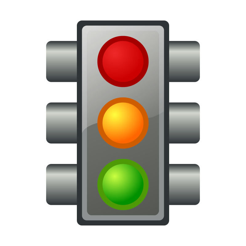 Traffic clipart traffic light Light light art #27110 Stop