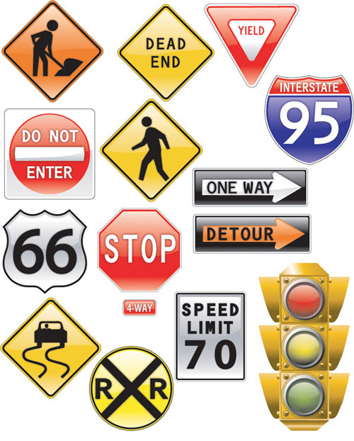 Traffic clipart road safety #2