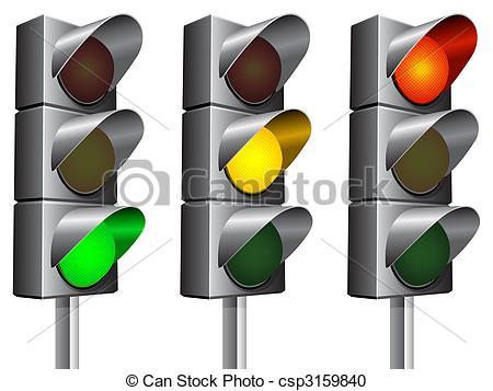 Traffic clipart ligh Art traffic Illustrations Traffic Clip