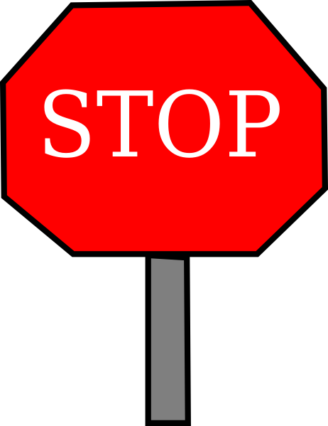 Microsoft clipart stop sign Vector Art Sign Images Stop