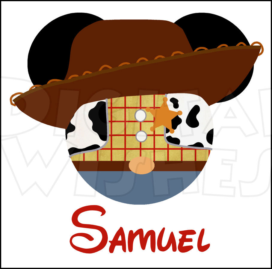 Toy Story clipart digital Mickey DIY art clip Etsy
