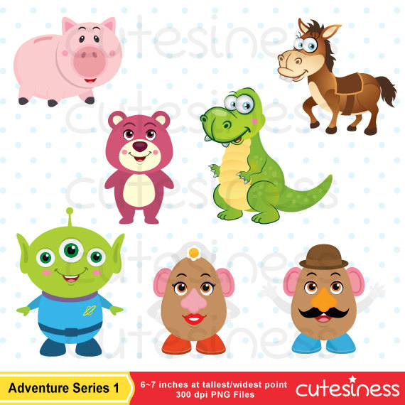 Toy Story clipart dachshund Clipart Toy Toy file digital