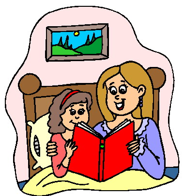 Worm clipart bedtime reading Reading Son · Mother
