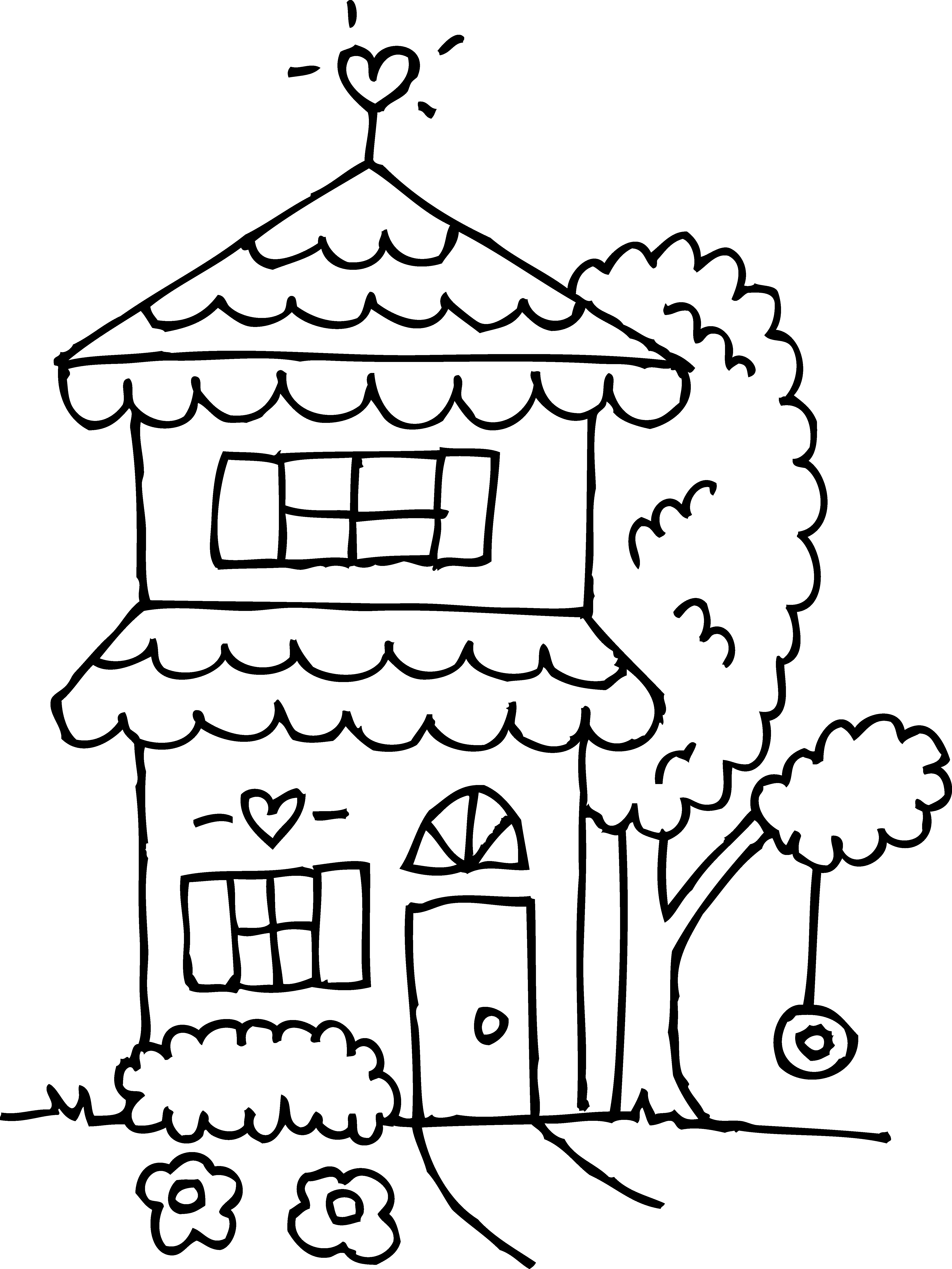 Setting clipart black and white Collection and and black Two