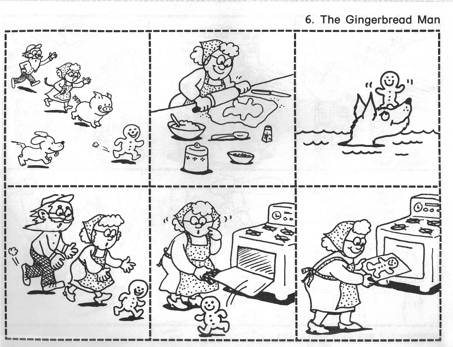 Gingerbread clipart story Gingerbread Free story Retelling Art