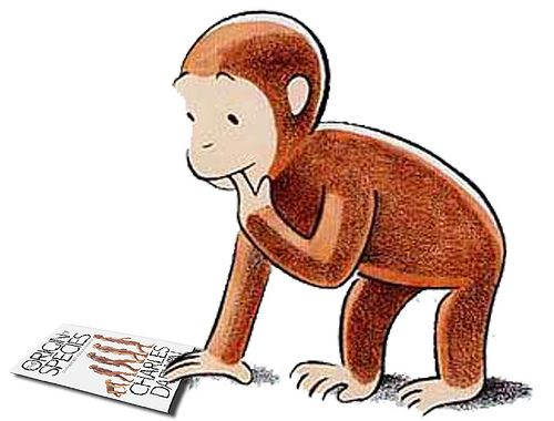 Classics clipart curious george Primate for baby PTM on