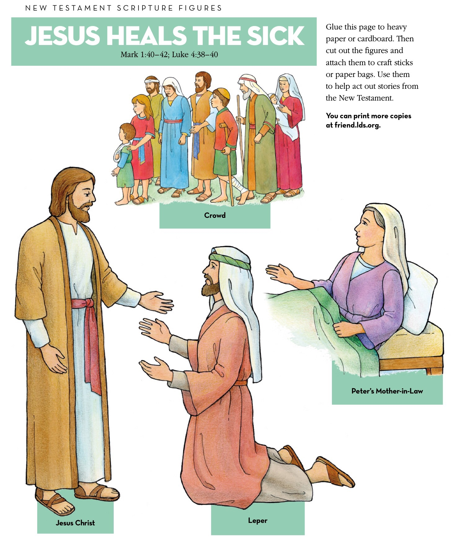 Crowd clipart jesus April LDS Clipart Children Christ: