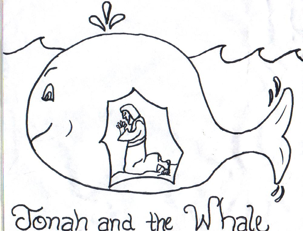 Boat clipart jonah Jonah Printable Whale Clip Free