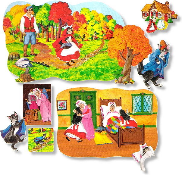 Stories clipart little red riding hood Red Set Board Download Hood