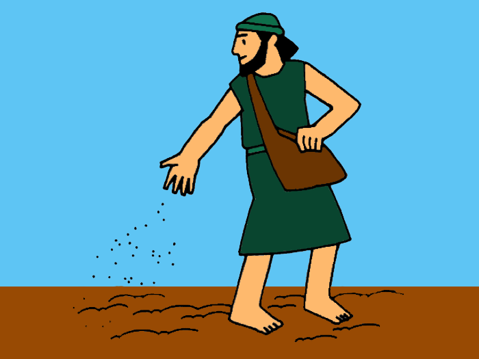Stories clipart parable Sower of  a Seeds