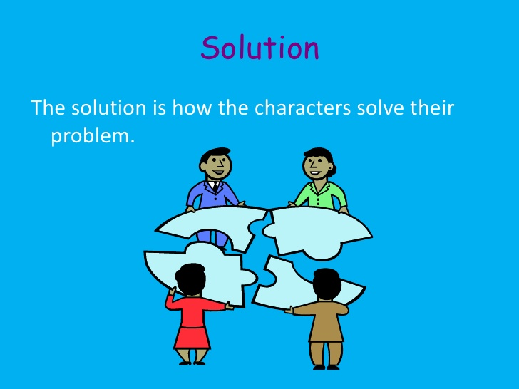 Stories clipart problem solving Elementary evil; trouble 13 in