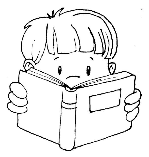 Club clipart reading and writing Writing Cute Black clip kids