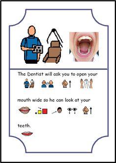 Stories clipart social story Autism Inside Story Kids Dentist