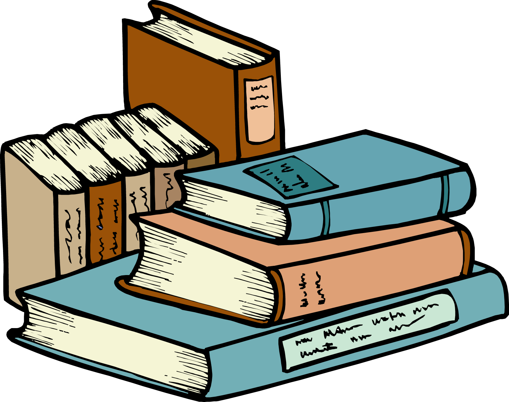 Book clipart book stack On #3 Free Books Stack
