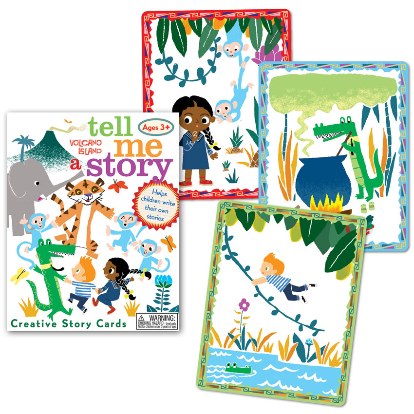 Stories clipart tell me  Tell Island a Volcano