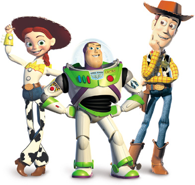Toy Story clipart woody and buzz Toy Disney 3: Plastic Plastic