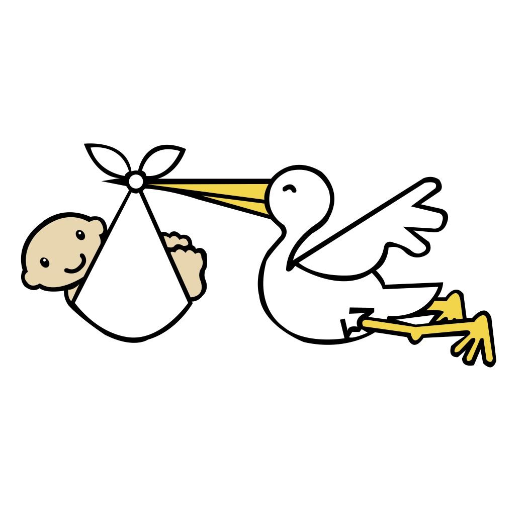 Stork clipart  Art Clip Banner Art