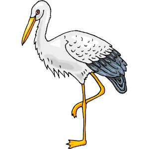 Stork clipart  Free Stork Clip Download