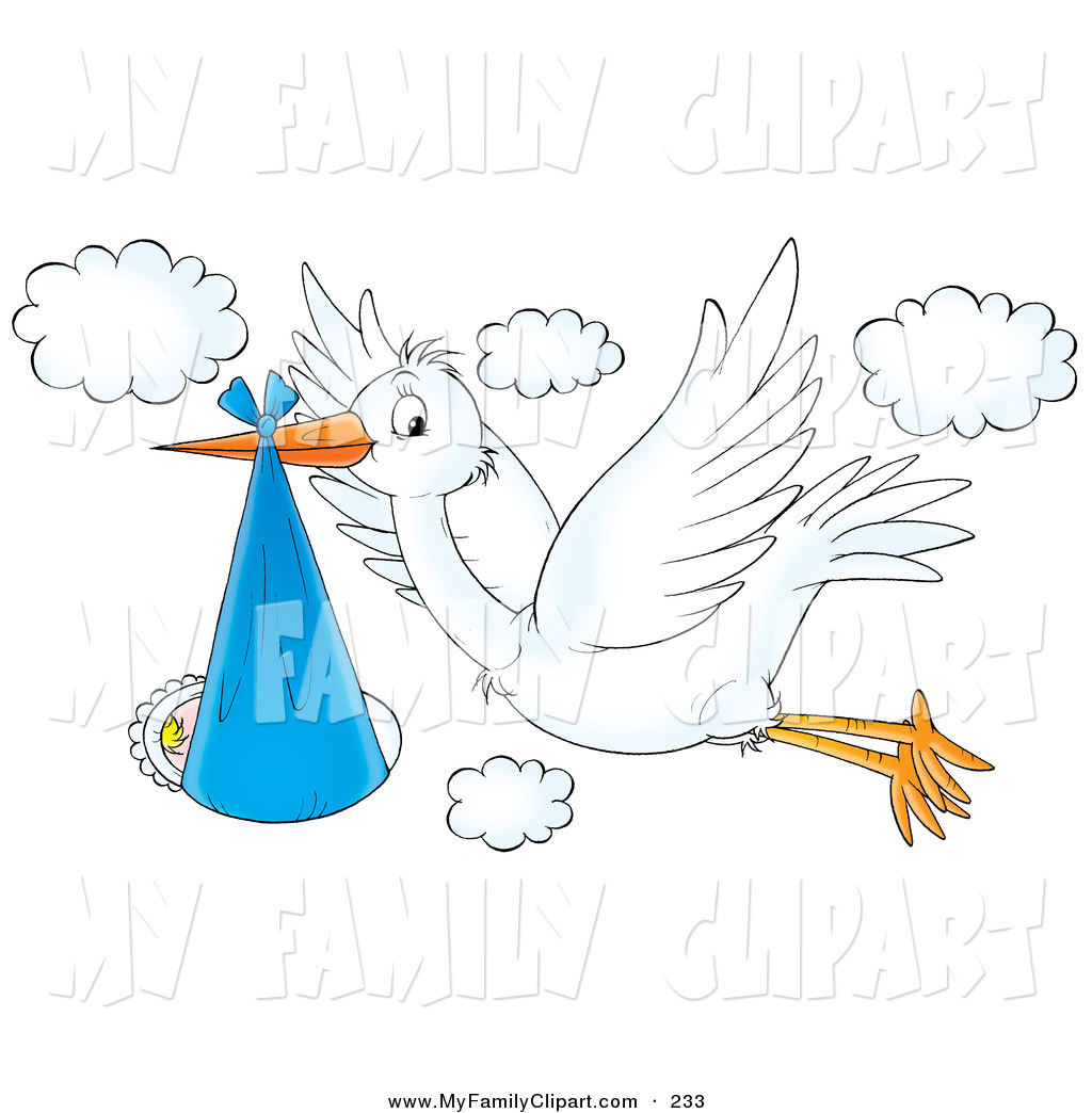 Blue clipart stork White drawings Download clipart Stork