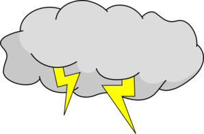 Thunderstorm clipart angry cloud Art Clip online clip Cloud