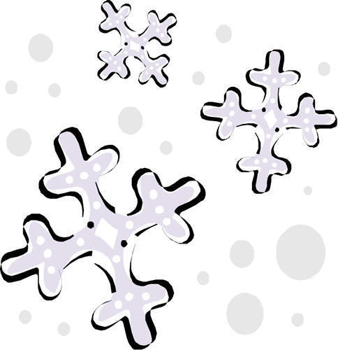 Winter clipart snow day Day Cold snowflake day clipart