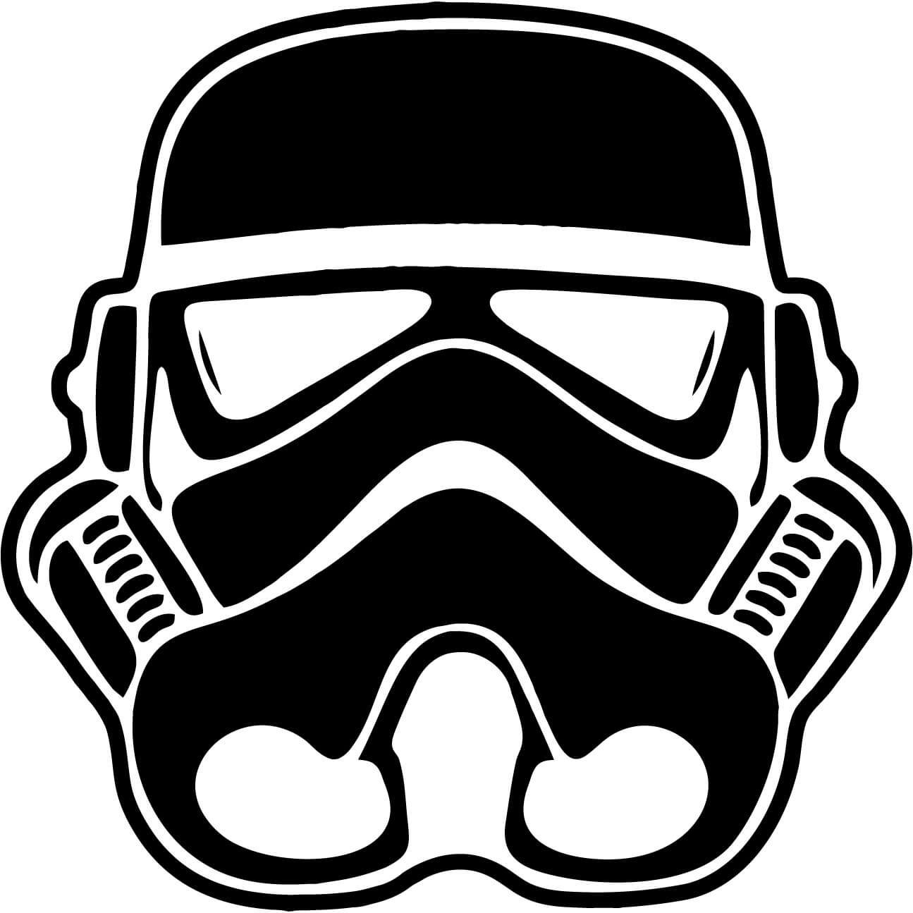 Mask clipart stormtrooper Vinyl Helmet Available Car Colors