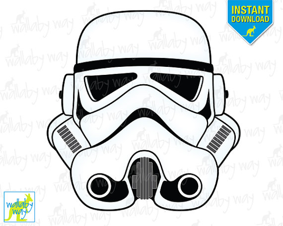 Mask clipart stormtrooper Wars as  Use Star