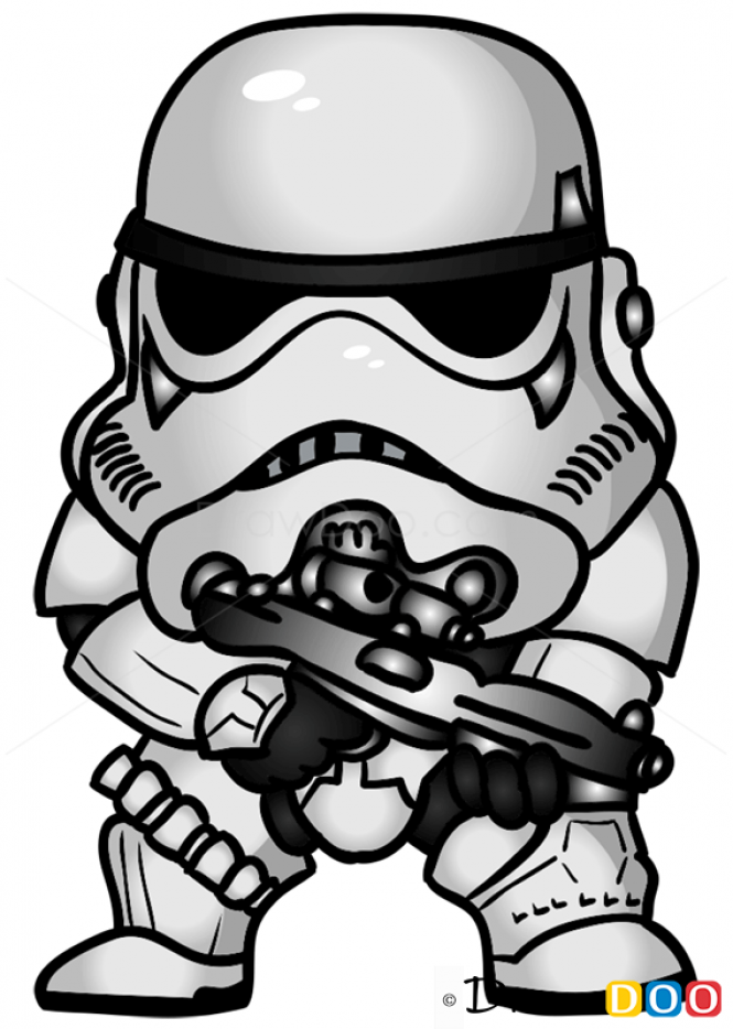 Drawn star wars trooper Draw to How to wars