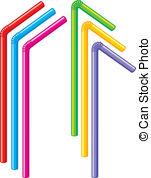 Straw clipart #15