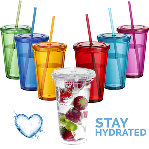 Straw clipart cold drink bottle WATER STRAW BOTTLE TRAVEL TUMBLER