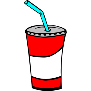 Beverage clipart straw Cup Cliparts Drinking with Straw