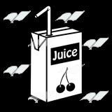 Juice clipart black and white Cherry Juice a Abeka Juice