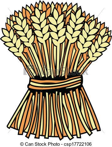 Straw clipart wheat bundle Art Bundle Clip Clip –