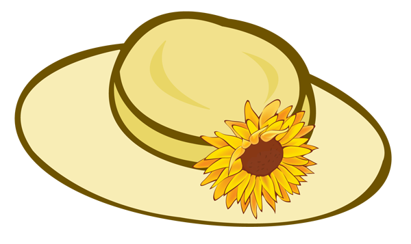 Straw Hat clipart #7