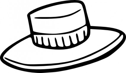 Straw Hat clipart #5
