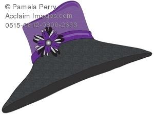 Straw Hat clipart church hat Hat Art Straw of Illustration