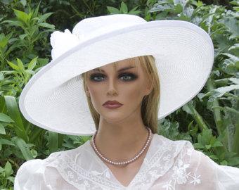 Straw Hat clipart church hat Hat White Straw Women's White