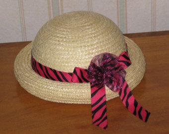 Straw Hat clipart church hat Hat Toddler Straw Etsy Hat