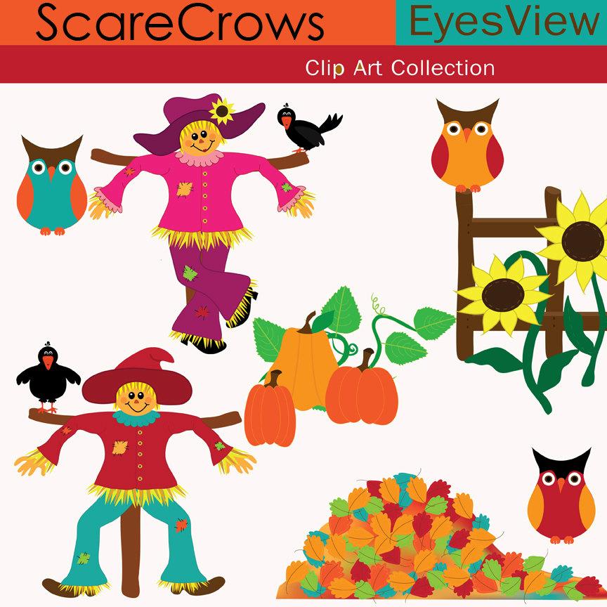 Straw Hat clipart scarecrow hat #15