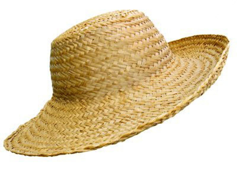 Straw Hat clipart scarecrow hat #9
