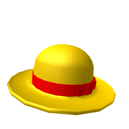 Straw Hat clipart yellow hat Hat Straw Luffy's Luffy's ROBLOX