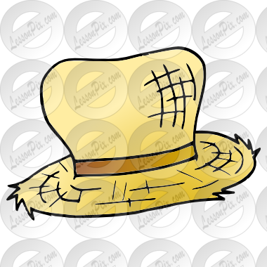 Straw Hat clipart yellow hat Picture Therapy Hat Straw Straw