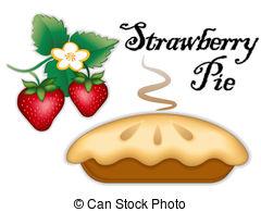 Pies clipart bluberry  strawberry of pie pie