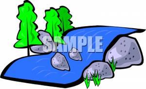 Sream clipart brook Rocks Picture: Clipart Brook Picture: