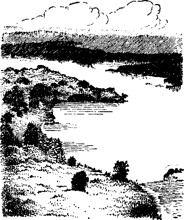 Scenery clipart lake #13