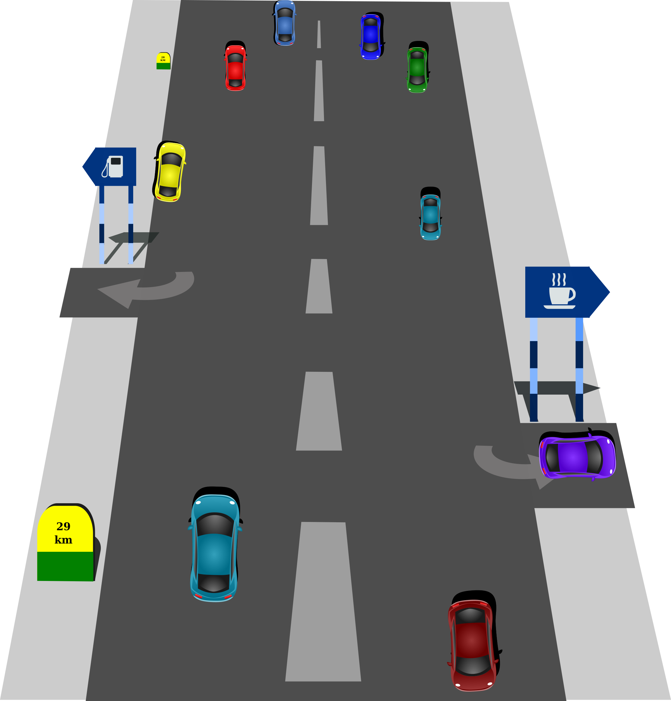 Street clipart The Roads Traffic Street Clipart